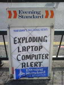 amusing computer sign